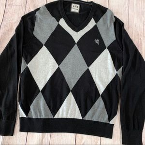 Express Harlequin pattern sweater